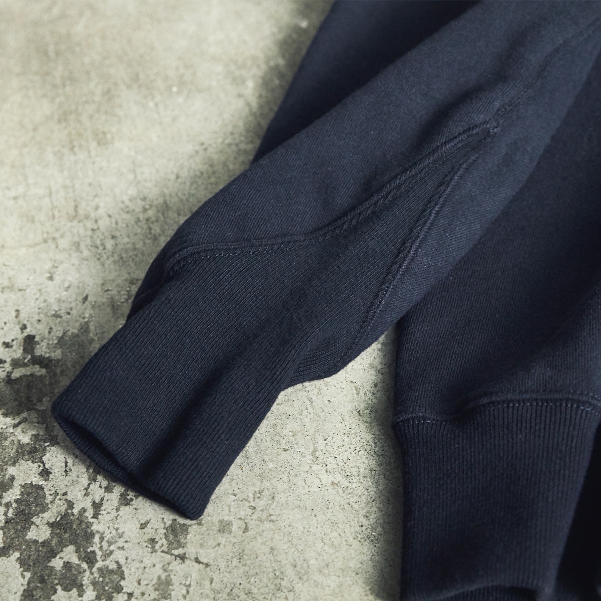 V字長リブ|コレクターが唸る、独自のディテールが魅力。スポルディング社の名作から、現存していない「ブラック」をMade in Japanで「トレーニングシャツ」|A.G. Spalding & Bros