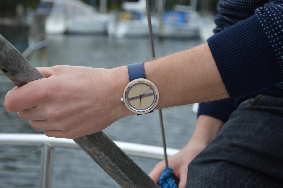 Georg Jensen でデザインしていたボー・ボンフィスが手がけた腕時計|VEJRHØJ