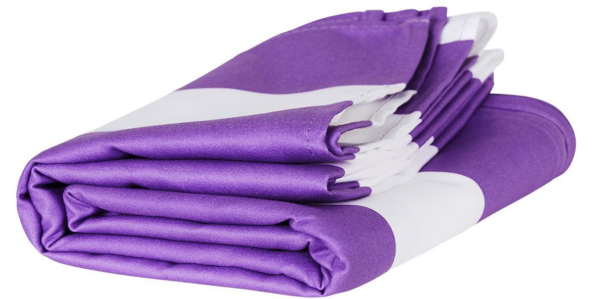 メルボルン・ブライトンビーチの紫(Brighton Purple)|水をサッと吸収、砂がつかないマイクロファイバー製のカラフルタオル(ビーチタオル)|DOCK & BAY