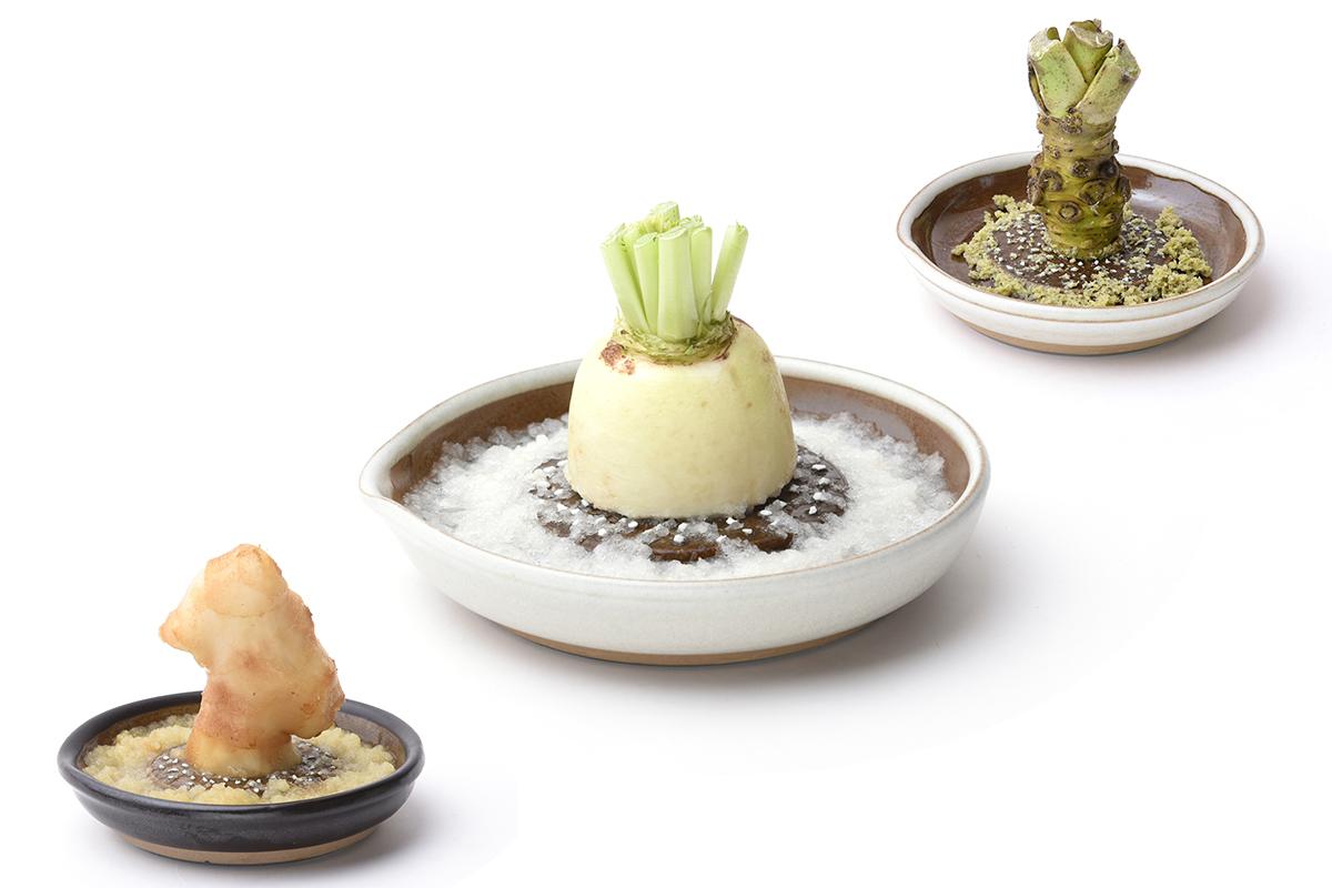 島根県石見地方の伝統工芸品である「石見(いわみ)焼」に、窯元独自の製法を掛け合わせて生まれた、実力派のおろし器です。「おろし器」|もとしげ