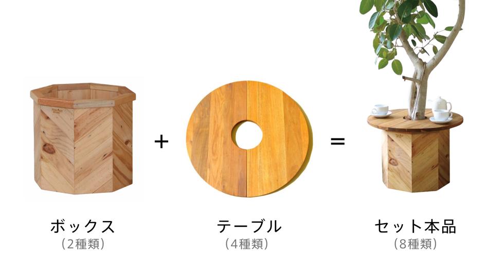観葉植物や多肉植物が主役になる、まったく新しいコーヒーテーブル『Hang Out(ハングアウト)』|【ガーデニング用品特集】心と身体を整える趣味の世界にようこそ。収納バスケットやホースなど、おしゃれグッズ5選