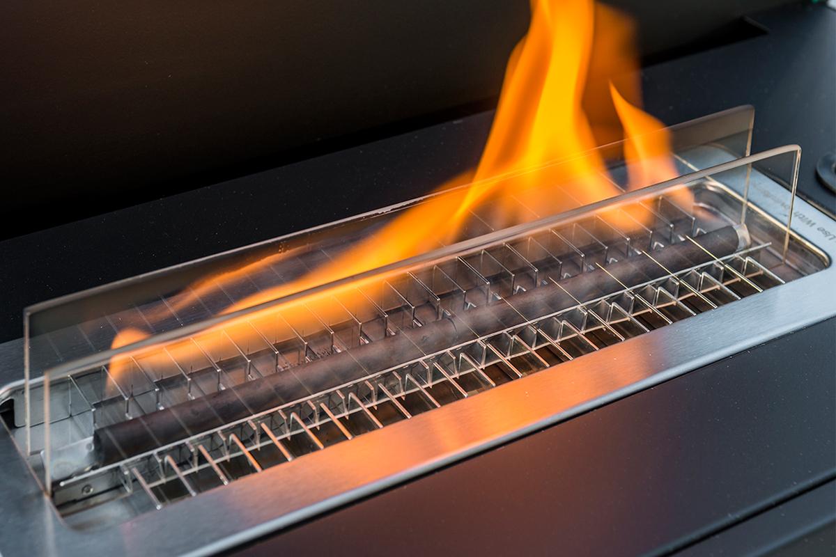 安全な専用オイル使用で、煙が出ない、テーブルに置ける「焚き火」|LOVINFLAME