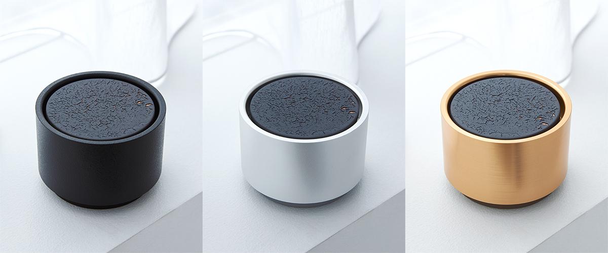 アロマディフューザー本体「Black」のセットとして同梱されているデザイン|ミニマムでおしゃれなデザイン家電。香炉のような静かな存在感の「アロマディフューザー」|WEEKEND(ウィークエンド)