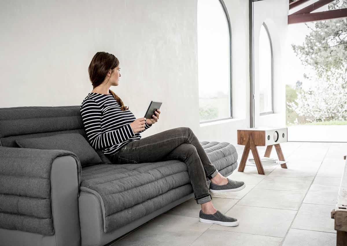 特許の音響技術で、部屋中に音が広がる。美しい家具のような高級スピーカー・オーディオ家具|La Boite Concept CUBE(ラ ボアット コンセプト キューブ)