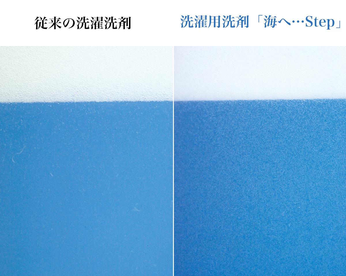 少量で、これ一つで綿もシルクも洗える。ダウンや防水透湿性のあるレインウェアも洗える環境に優しい洗剤|海へ…Step