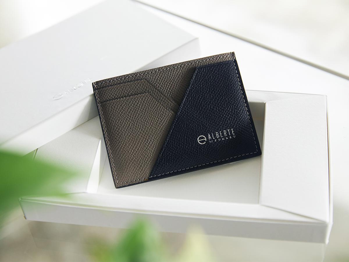 フタが省かれたシンプルなデザイン。無理なくミニマムを極めた、「薄い財布」の傑作(長財布、二つ折り財布、パスケース、カードホルダー)|ALBERTE