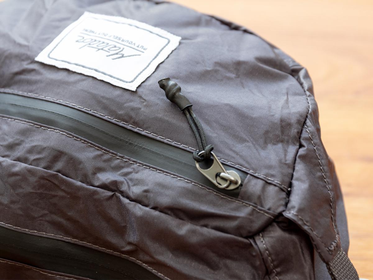 高耐水性&高強度の素材「30D Cordura」を使用した、旅先や日常生活でアクティブに動き回れる防水仕様のウエストバッグ/ヒップバッグ| Matador