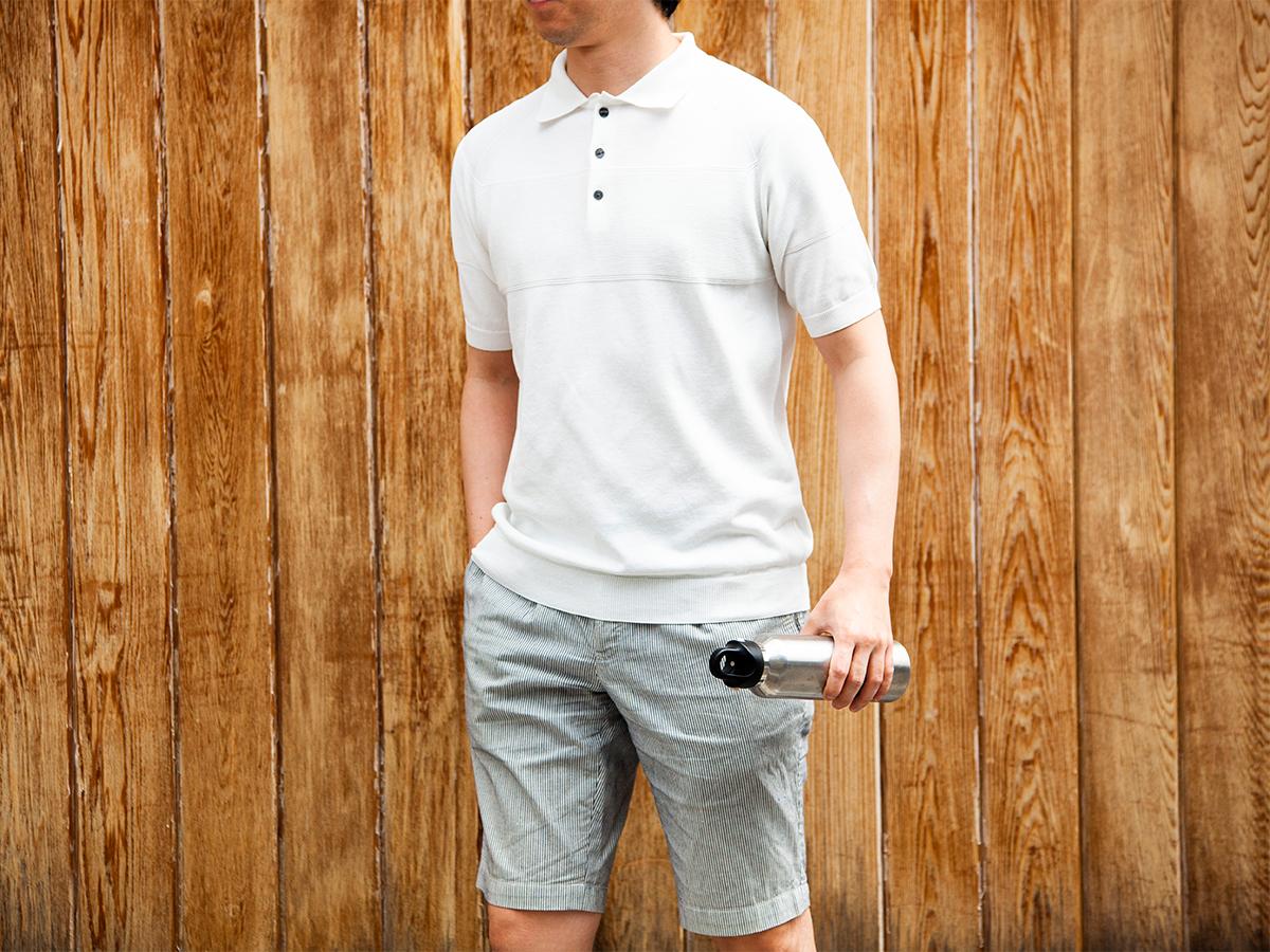 上質な風合いと着心地のよさを両立した、新時代のポロシャツ「ニットポロシャツ」|伊予和紙ポロシャツ