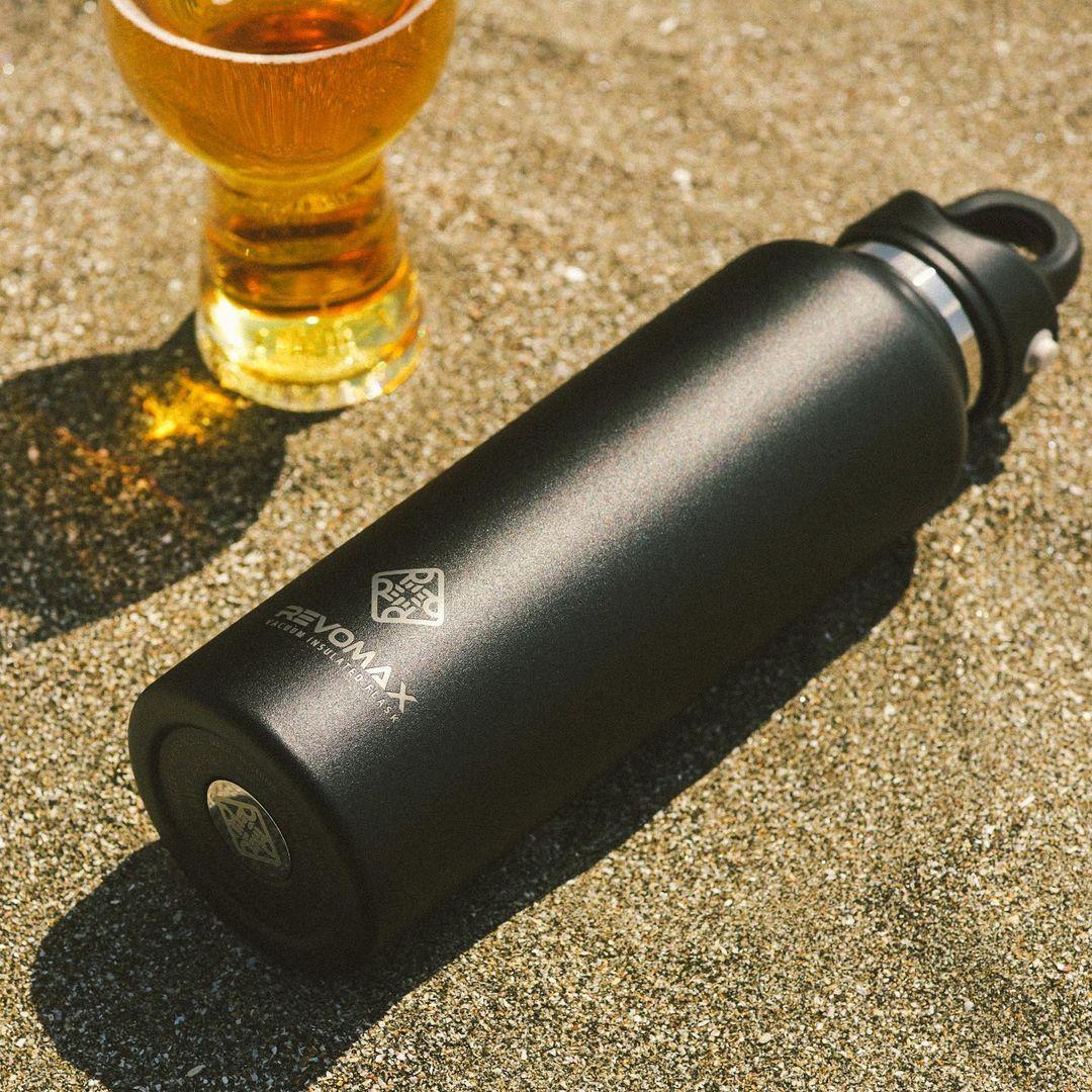 毎日使いやすいサイズ。炭酸水もビールも36時間保冷、保温も18時間OKの「マイボトル」|REVOMAX(レボマックス)