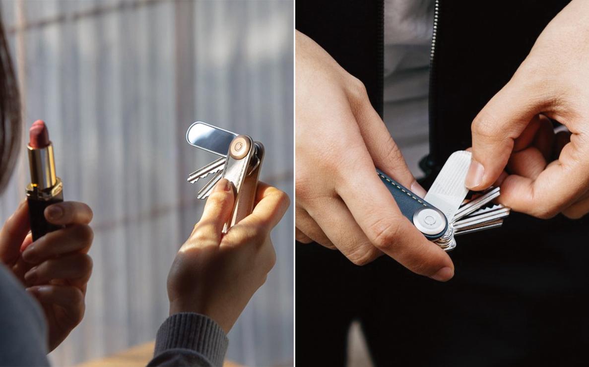 キーケース キーホルダー ORBITKEY アクセサリー(ミラー&爪やすり)