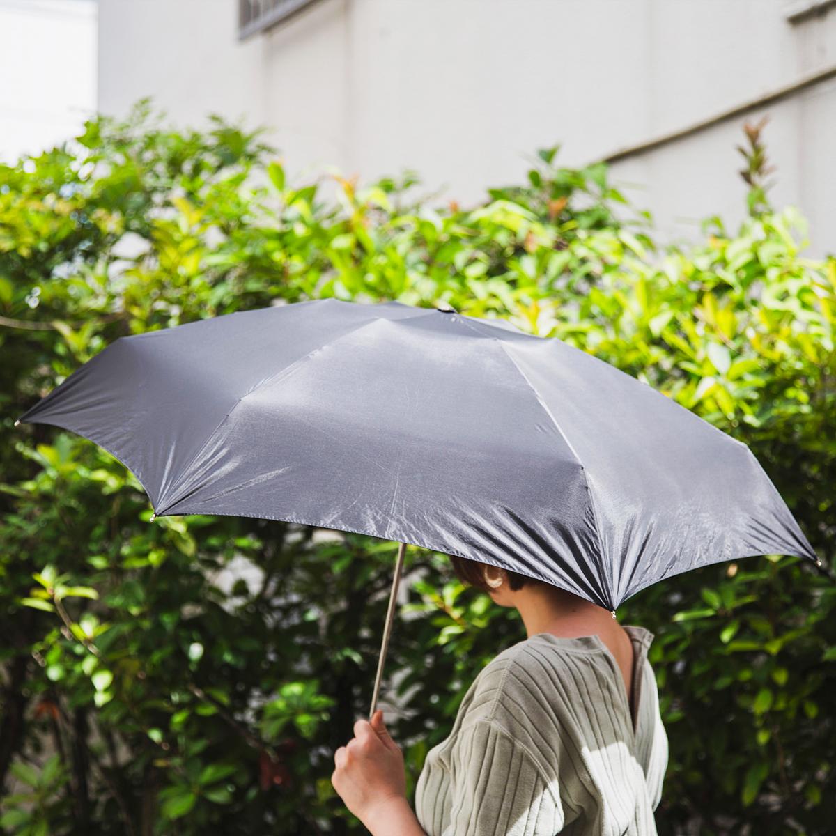 97.3%のUVカット加工が施されており、遮熱性もある世界最小級折りたたみ傘「マイクロ傘」|スギタ