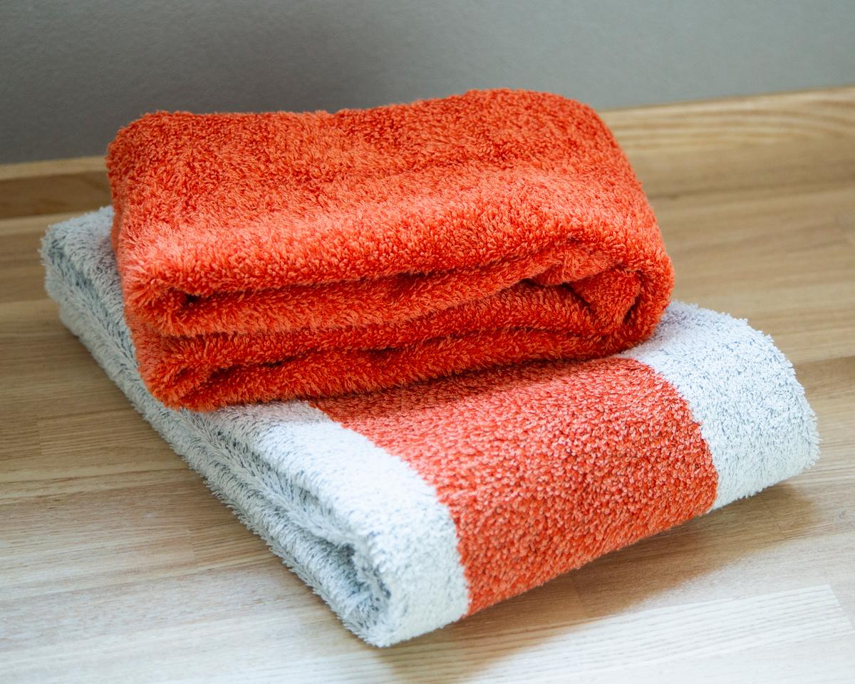 オーガニックコットンと再生竹繊維(バンブーレーヨン)の合せ織りのこだわりの素材を使ったオーガニックタオル|Hippopotamus(ヒポポタマス)