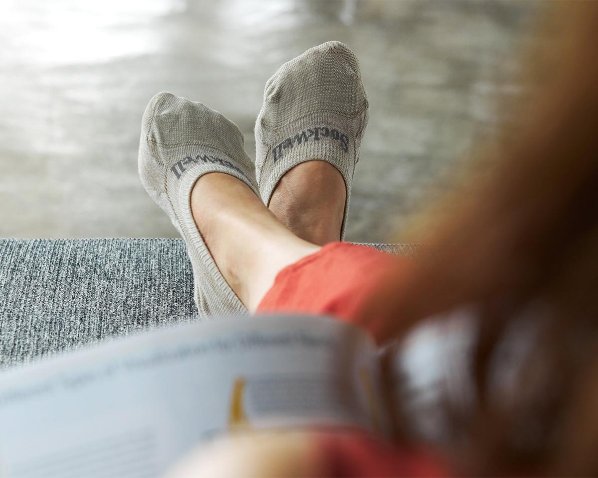 夏涼しく、冬は暖か。「天然のエアコン」ともいわれるほど|天然のエアコンと言われるメリノウールを使用。脱げにくく、ムレ知らずのフットカバー|Sockwell(ソックウェル)