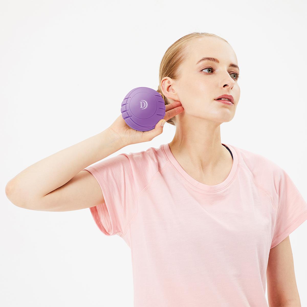 毎分4000回の振動で、筋肉を奥深くから揺さぶるストレッチボール Dr.Air 3Dコンディショニングボール