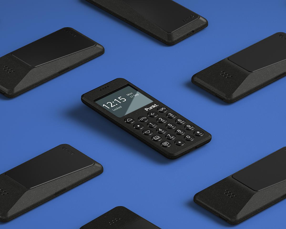 どこから見ても美しくて、気持ちいいほどシンプルで機能的なスーパーノーマルな美しさの携帯電話・ミニマムフォン|Punkt.(プンクト)