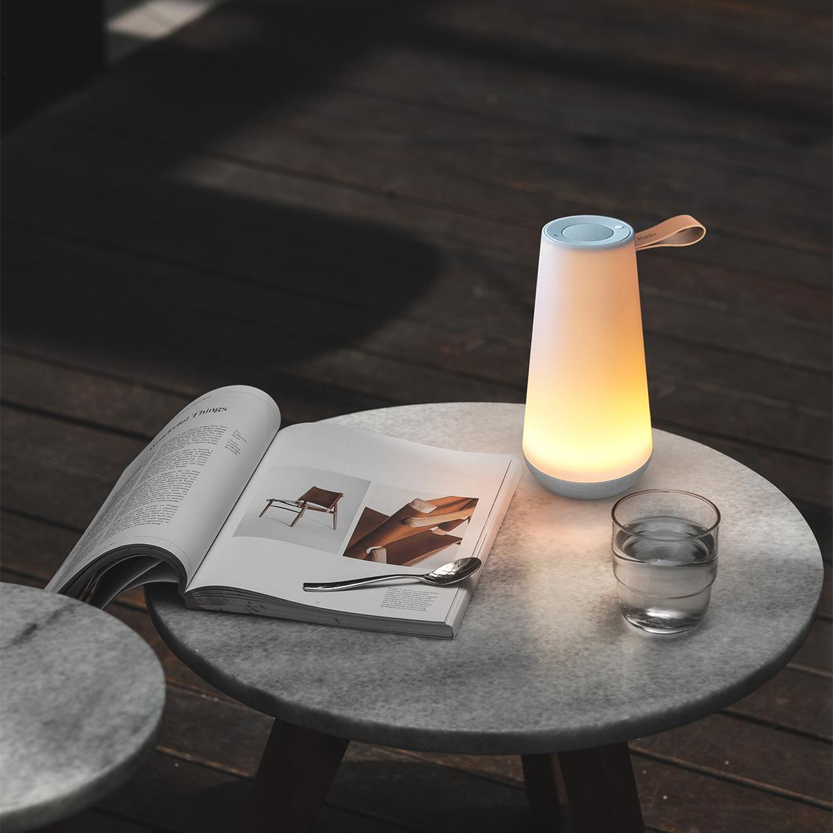 発想からUMAの製品化までは3年。現代のあらゆる最先端技術をひとつの美しいフォルムに収めた。「音」と「光」の調和するワイヤレスHi-Fiスピーカー|Pablo UMA MINI