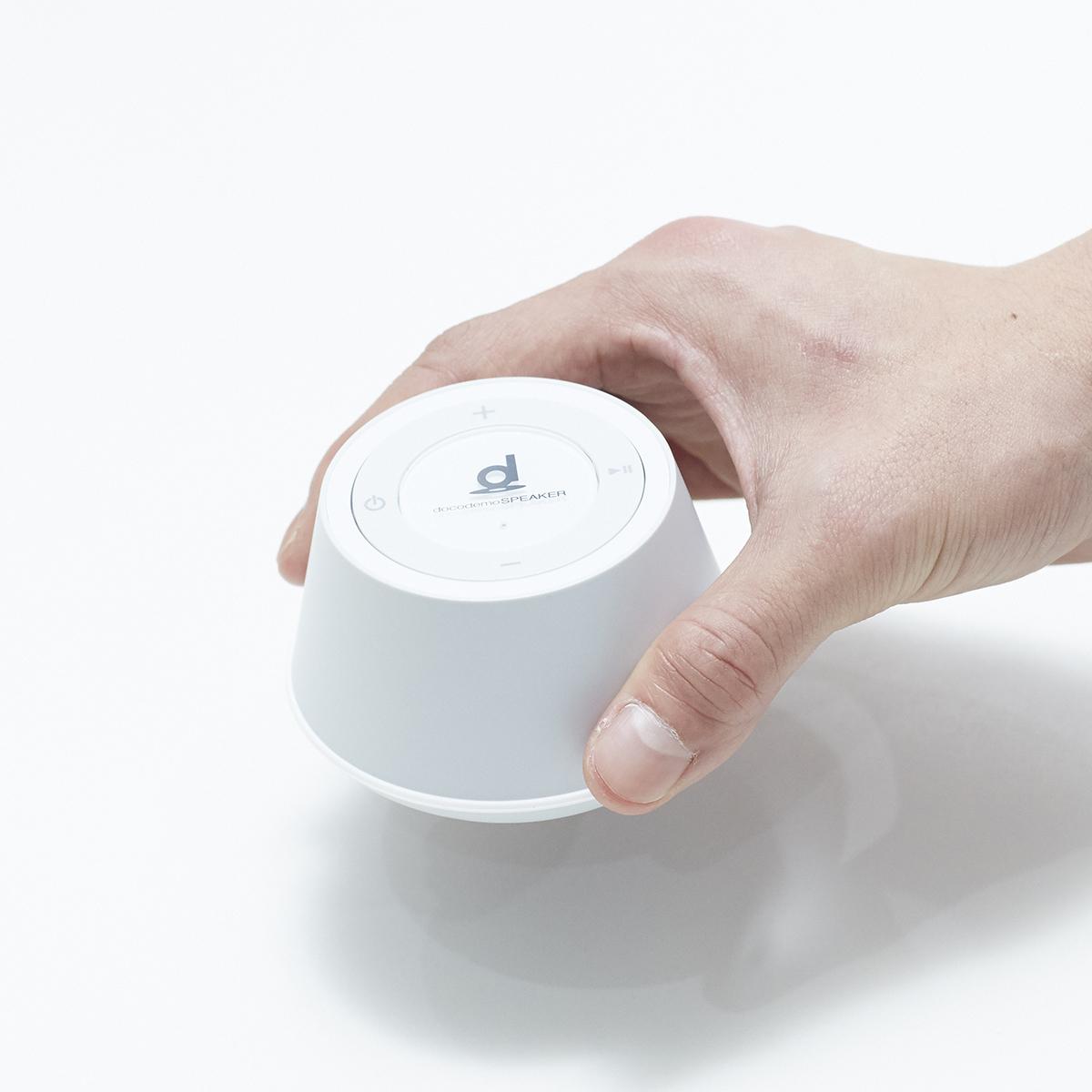 家の床や壁、デスクにイス、車やクーラーボックスでいい音を再現できる新感覚スピーカー|docodemoスピーカー