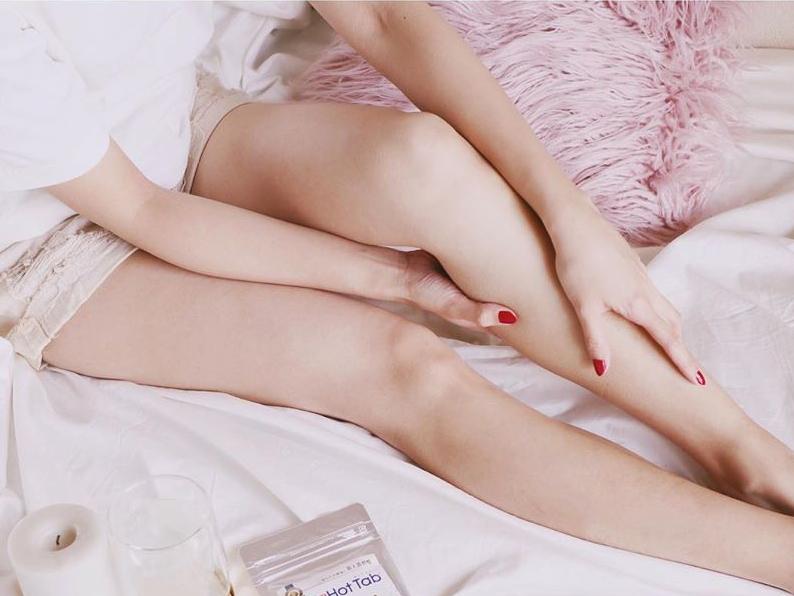 皮膚のバリア機能は残したままなので、重炭酸湯に浸かっているあいだから、肌ツルツルの感触を実感できる。日本初!独自の高硬度マイクロカプセル技術が生んだ重炭酸湯のタブレット入浴剤|薬用Hot Tab(ホットタブ)