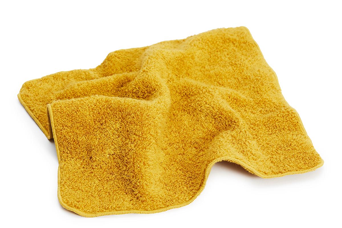 介護のプロが支持、汗が臭わない今治ミニタオル(ハンカチ・タオル)|Breeze Bronze