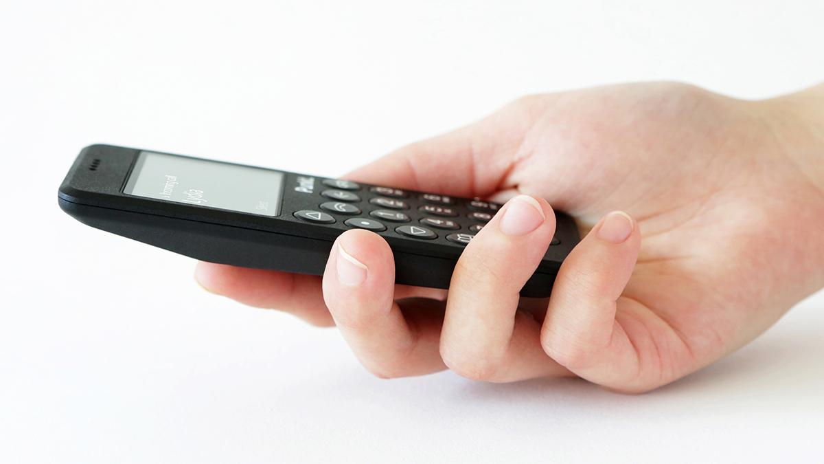 自然体で心地いい着信音の携帯電話・ミニマムフォン|Punkt.(プンクト)
