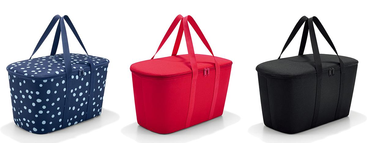 三色展開のお洒落なデザインのキャリーバッグ