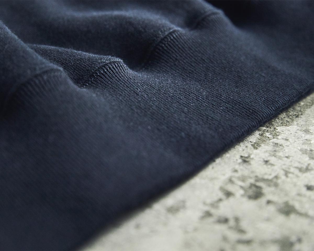 風合いを残したまま鮮やかに発色させたのが特徴。スポルディング社の名作から、現存していない「ブラック」をMade in Japanで「サイドラインパーカ/シングル」|A.G. Spalding & Bros