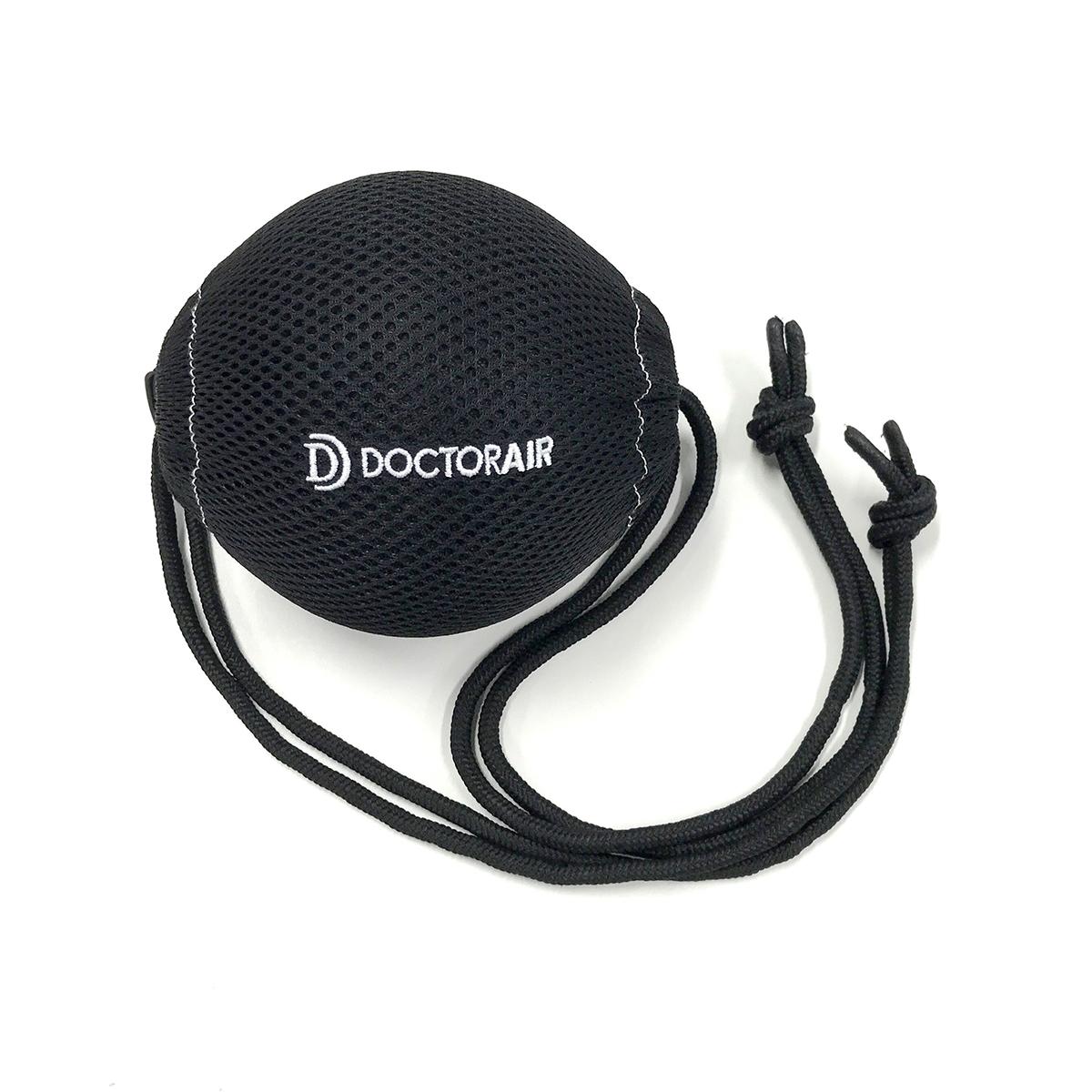 背中へラクに届く持ち手つきカバー|毎分4000回の振動で、筋肉を奥深くから揺さぶるストレッチボール|Dr.Air 3Dコンディショニングボール