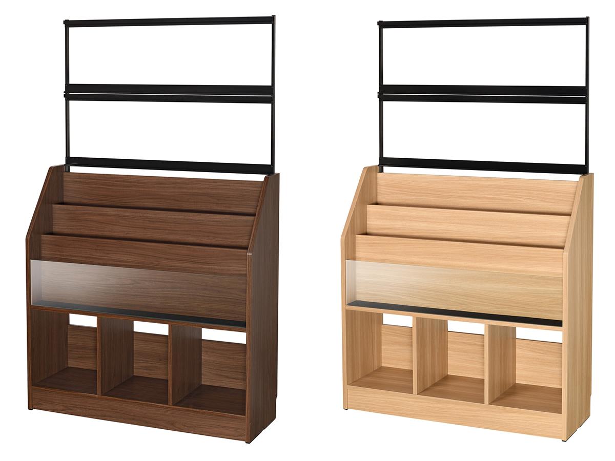 組み立ても簡単。家具の老舗の熟練職人がひとつひとつ手がけた、贅沢な大容量レコードラック|レコードディスプレイラック