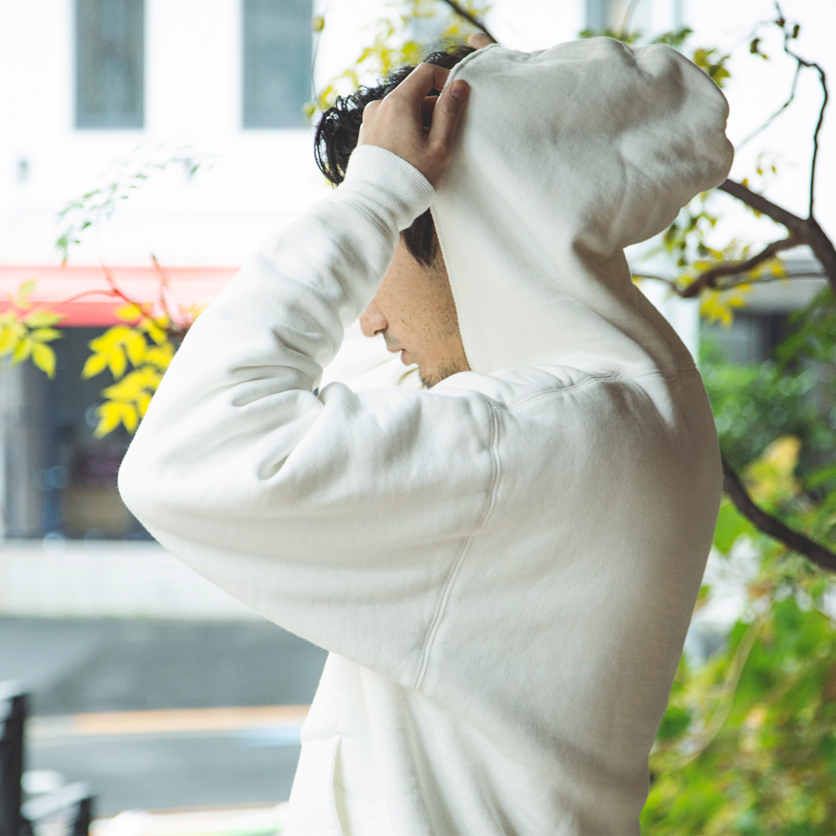 アイビーリーガーの防寒着だったこともあり、寒さ対策の工夫を凝らした独自のディテール。ポルディング社の名作の復刻版の「サイドラインパーカ」|A.G. Spalding & Bros