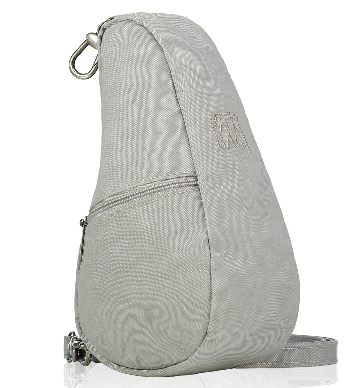 洗濯可能なテクスチャードナイロン|人間工学による「しずく型」で、荷物も体も軽くなるバッグレット|Healthy Back Bag