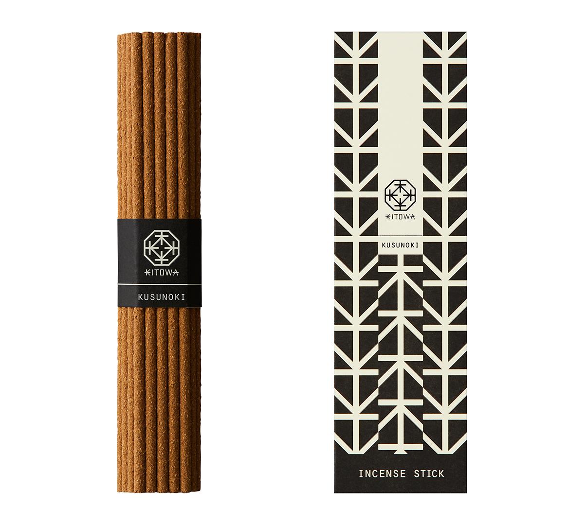 KUSUNOKI(屋久島産のクスノキ)|あなたの部屋がエグゼクティブスイートになる。伝統の薫香技術が生む「香り」で、空間の模様換えが叶うインセンススティック(お香)|KITOWA