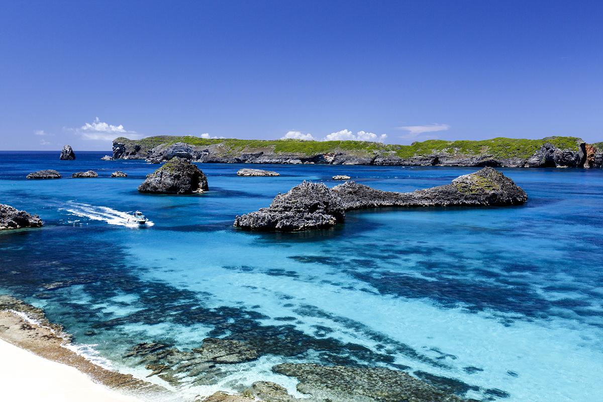 OGASAWARA(深い「小笠原ブルー」に魅せられる)がテーマのビーチサンダル|九十九サンダル|九十九サンダル