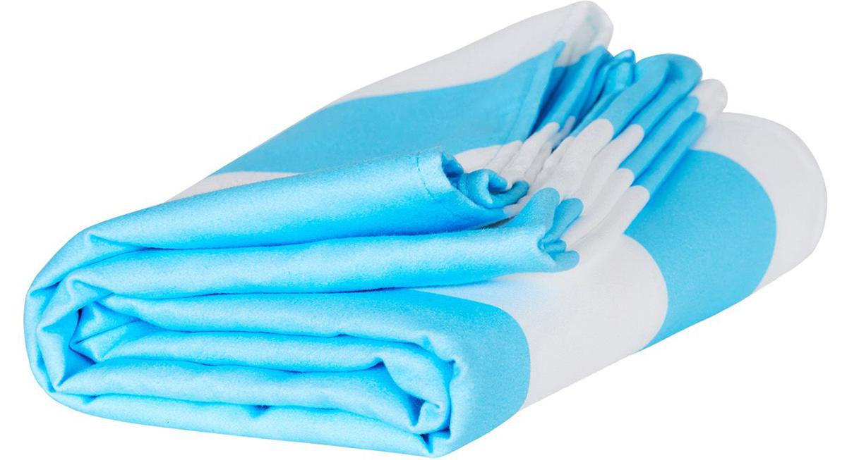 メキシコ・トゥルムビーチの青(Tulum Blue)|水をサッと吸収、砂がつかないマイクロファイバー製のカラフルタオル(ビーチタオル)|DOCK & BAY