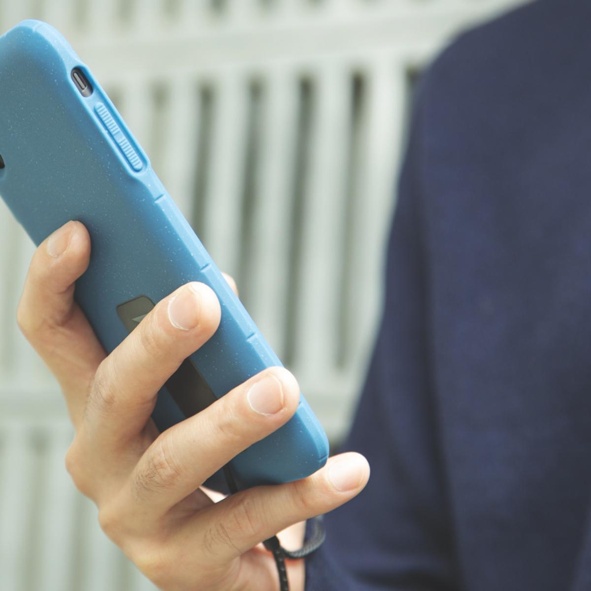 使い勝手もバツグン。薄型で丸みを帯びた側面は、長時間スマホを持っていても手が痛くなりにくいから、動画視聴やスマホゲームをする方にもおすすめのスマホケース・カバー|LANDER MOAB CASE(ランダー)