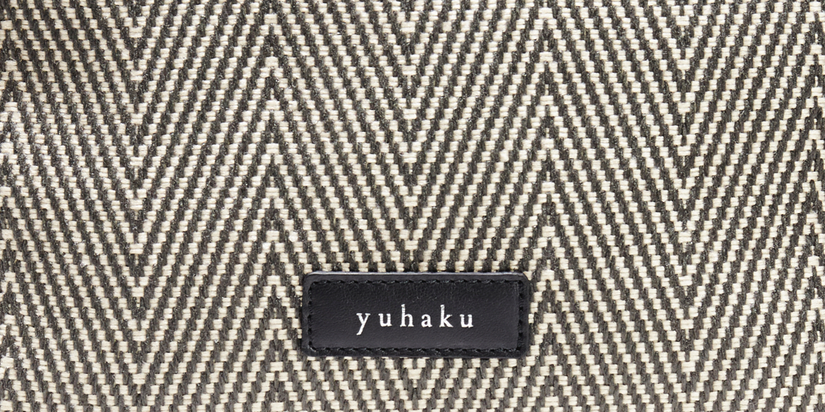 モノトーン メンズ革ポーチ yuhaku