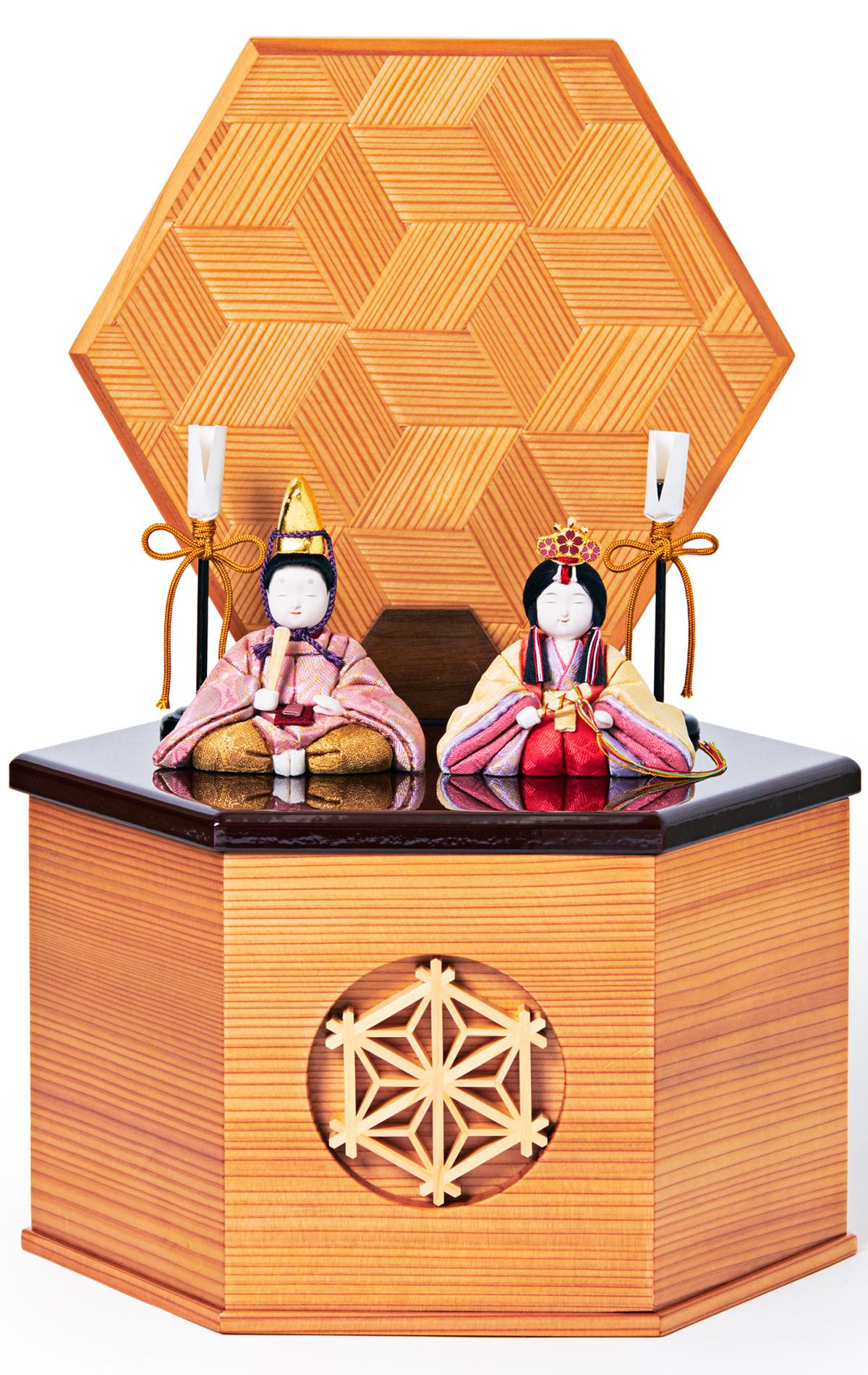 次世代に伝えていきたい最高峰の7つの日本伝統技術が結集|柿沼東光(経済産業大臣認定伝統工芸士)× 大沼 敦(工業デザイナー)によるモダンな雛人形