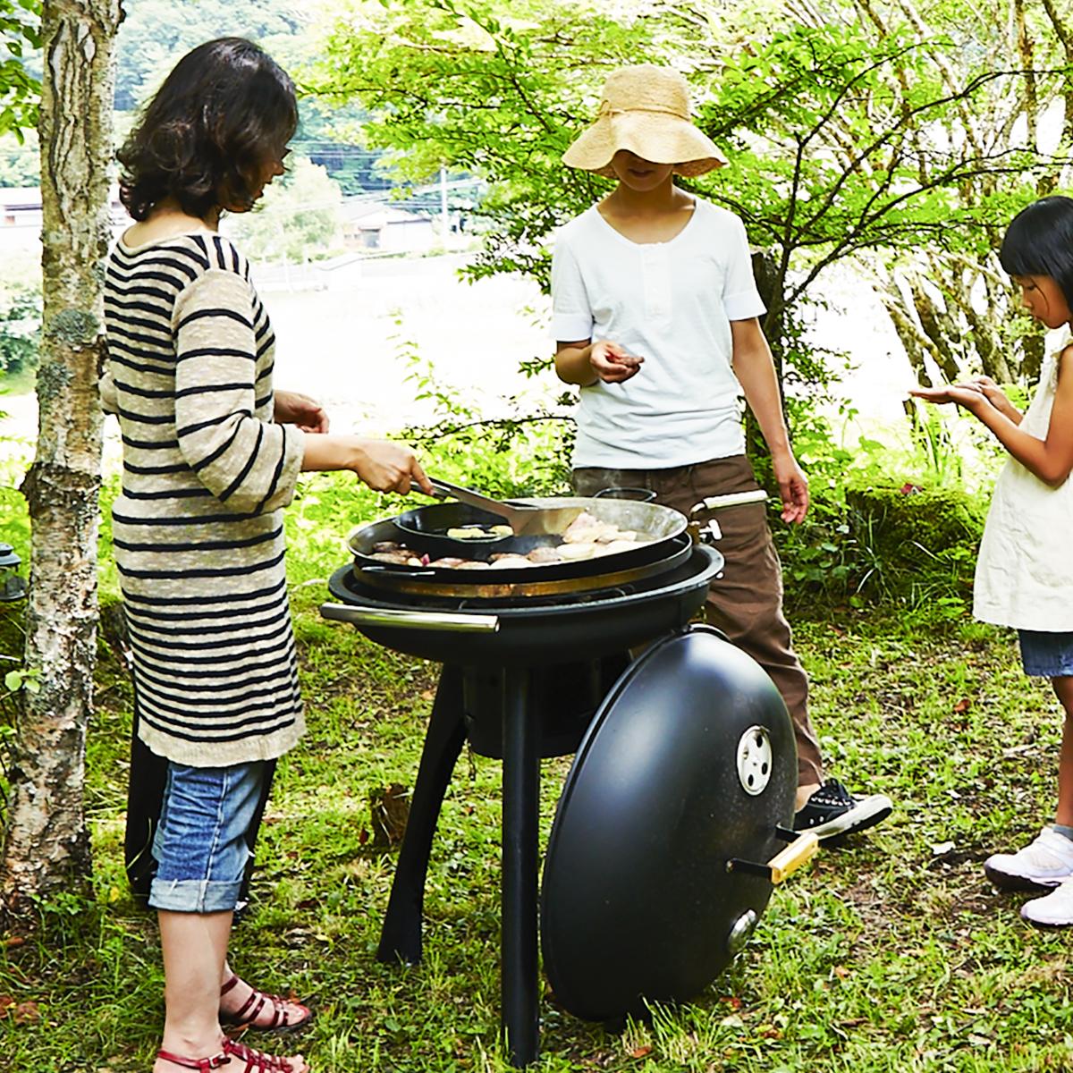 家族や友人と美味しい本格的なバーベキューが楽しめる「BBQグリル」|SWINGGRILL