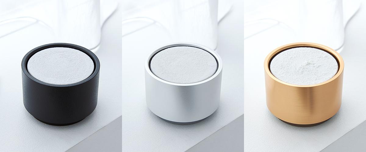 アロマディフューザー本体「Silver」のセットとして同梱されているデザイン|ミニマムでおしゃれなデザイン家電。香炉のような静かな存在感の「アロマディフューザー」|WEEKEND(ウィークエンド)