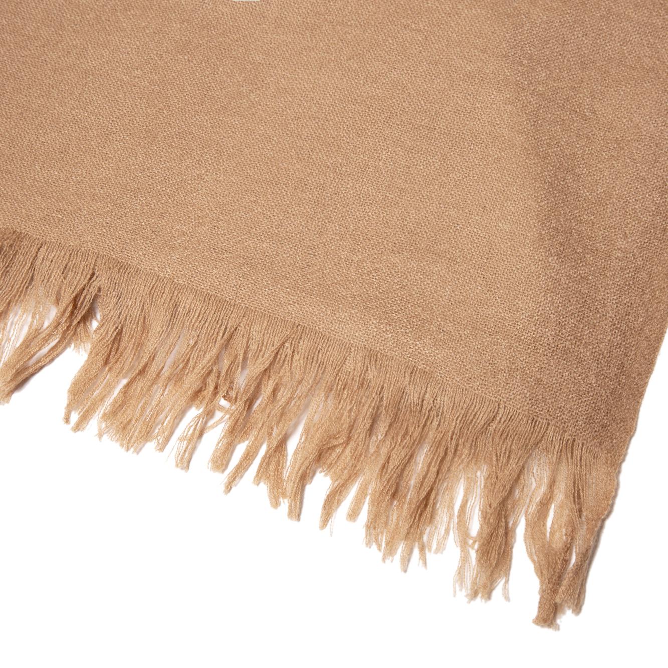 上質なカシミヤ原毛の糸で織り上げたストールだから、巻き心地が違います。上質なカシミアのマフラー・ストール「STEPPE」|ADOS(エイドス)