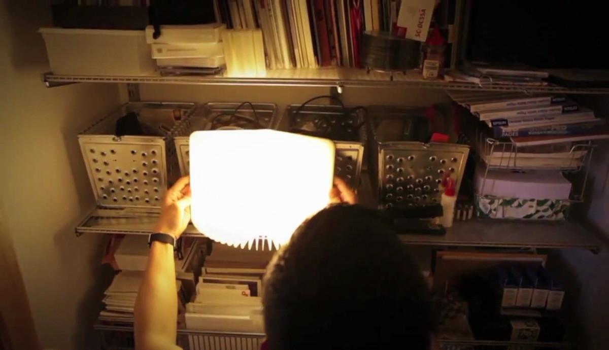 持ち運べるブックライト lumiosf ルミオ