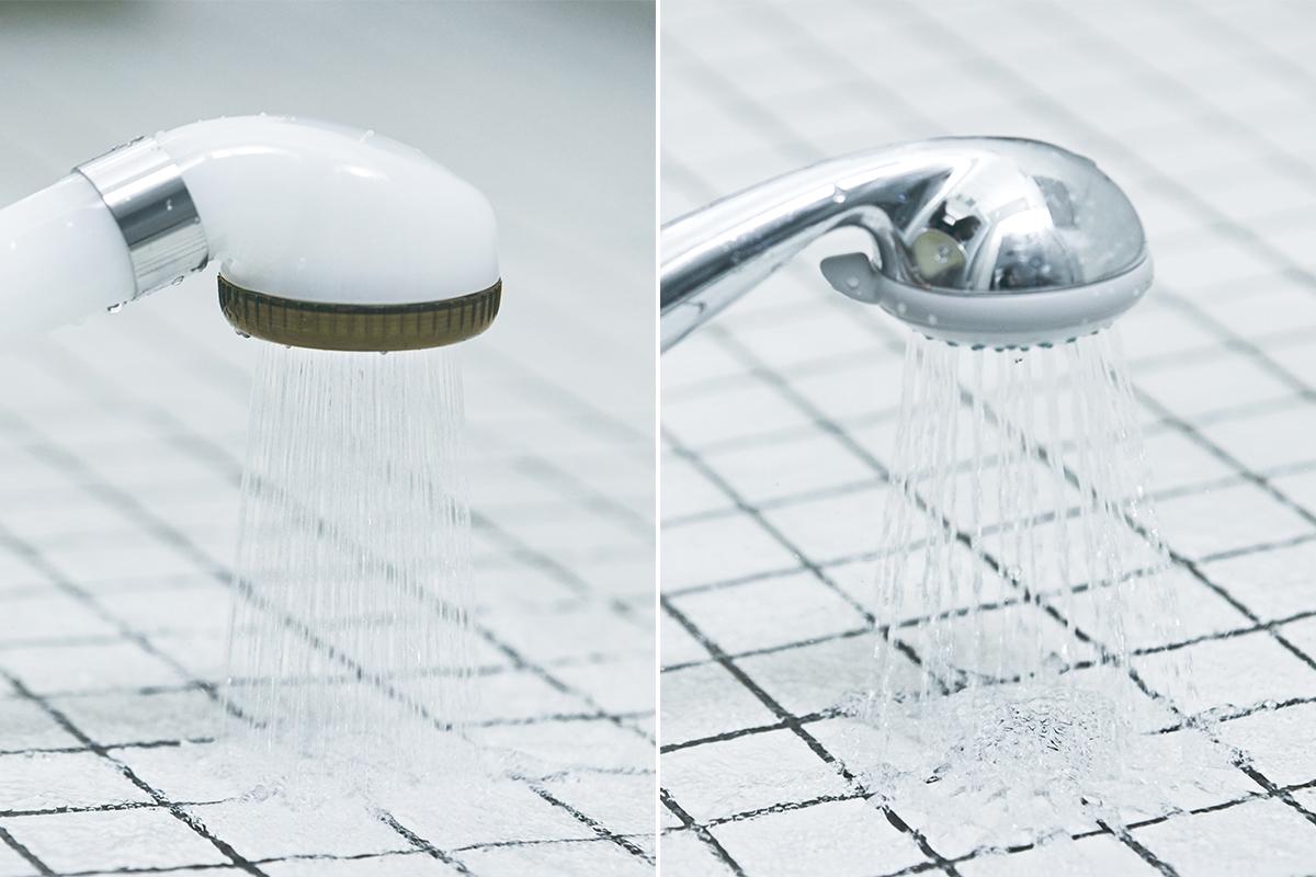 安定した水圧で、約30%の節水・節約ができる。毛穴の汚れ・皮脂をスッキリかき出して、しっとりホカホカ気持ちいい「シャワーヘッド」|エミュール ファインバブルシャワー