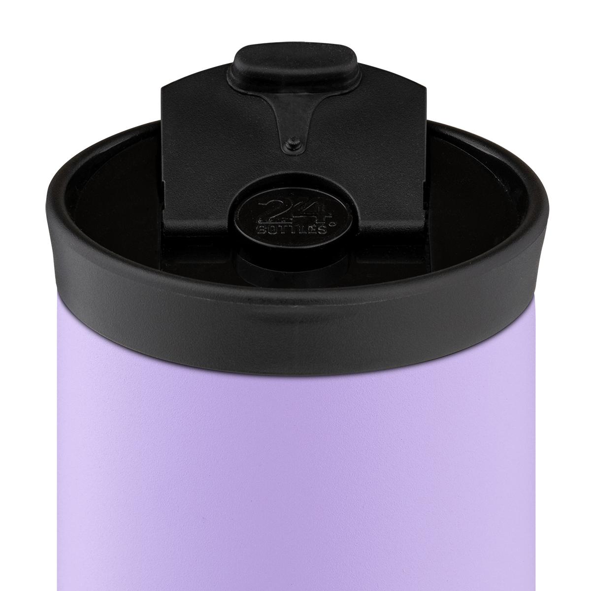 ボトル本体は、真空層を挟んだ、二層ステンレス製。コーヒーや紅茶は温かいまま、水やスポーツドリンクは冷たいまま、おいしい温度をキープできます。毎日持ち歩きたくなる、色柄豊富なイタリアンデザインのマイボトル 24Bottles(トゥエンティーフォーボトルズ)