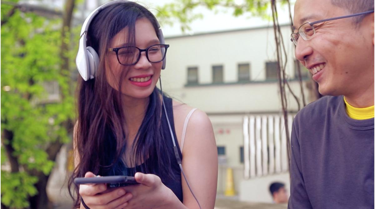 必要な音だけを増幅するから耳に優しい。聴覚テストで音質を最適化するポータブルアンプ AUMEO AUDIO