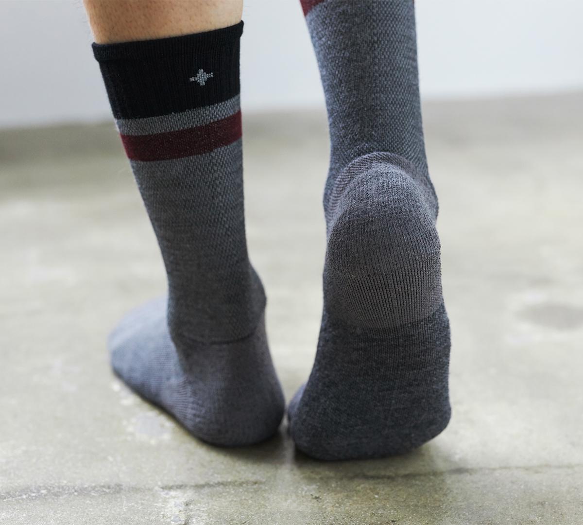 4段階着圧で、血流をサポート。夏は涼しく冬は暖かいメリノウールを使用した、血液やリンパの流れをサポートする着圧ソックス(健康ソックス・靴下)|Sockwell(ソックウェル)