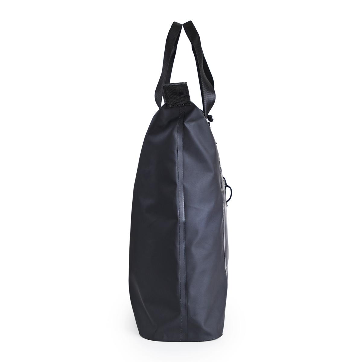 防水性のスタイリッシュなデザインのトートバッグ マチ部分