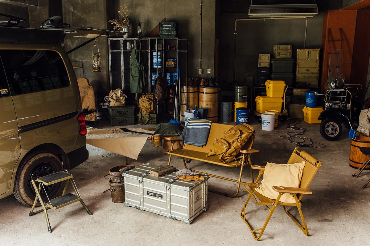 車好き、アウトドア好きをイメージして、カー用品で知られるオートバックスが、2017年に立ち上げたブランド。車用品のオートバックスから生まれたプロ仕様。スタイリッシュでオシャレな気分が上がる掃除道具。カー用品のオートバックスから生まれた『GORDON MILLER』(ゴードンミラー)