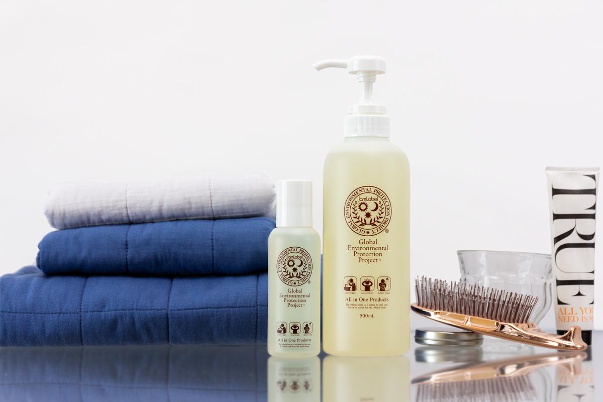 1本で、頭から足まで全身洗えて、特別な保湿ケアもいらないシャンプー|Jam Label