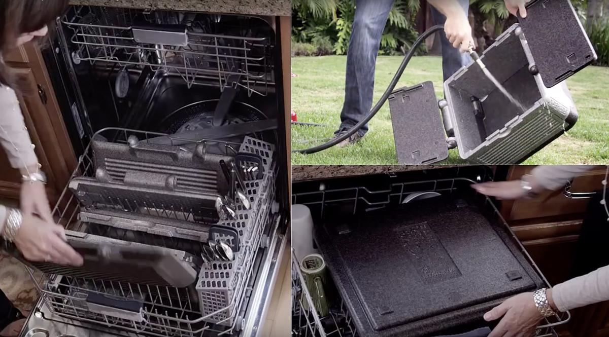 分解でき丸洗いできるから清潔。保冷・保温に優れた軽量で頑丈な折りたためるクーラーボックス|Flipbox