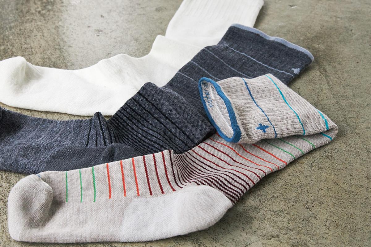 指先はゆったり、履き口は柔らか、土踏まずはしっかりサポート。夏は涼しく冬は暖かいメリノウールを使用した、血液やリンパの流れをサポートする着圧ソックス(健康ソックス・靴下)|Sockwell(ソックウェル)