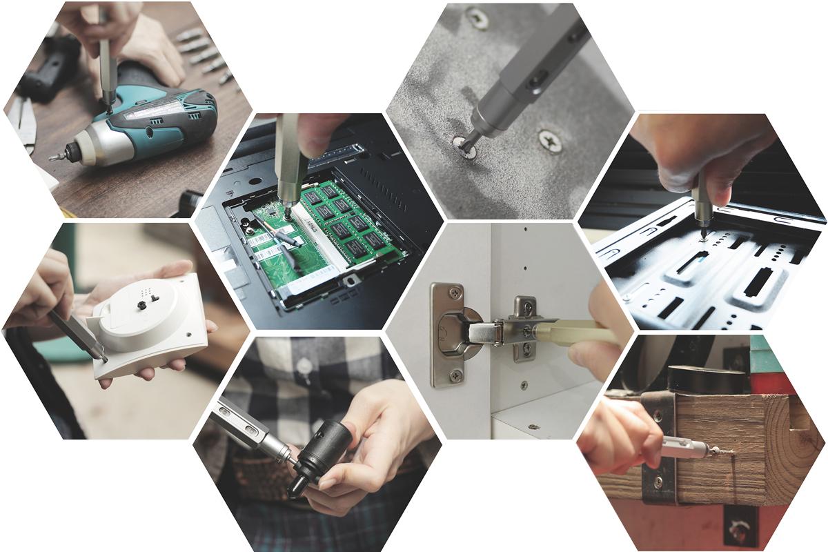 一般家電、精密機械に使えるロケット鉛筆のようなペン型の工具|mininch